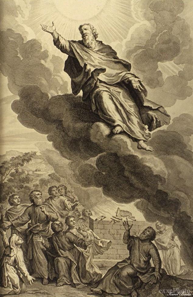 In Heaven (Enoch a righteous man)